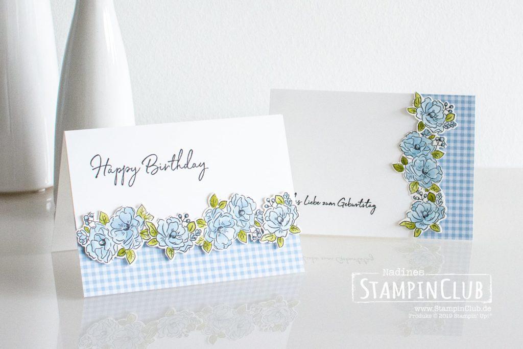Stampin' Up!, StampinClub, Zum Geburtstag für dich, Happy Birthday to You, Sale-A-Bration