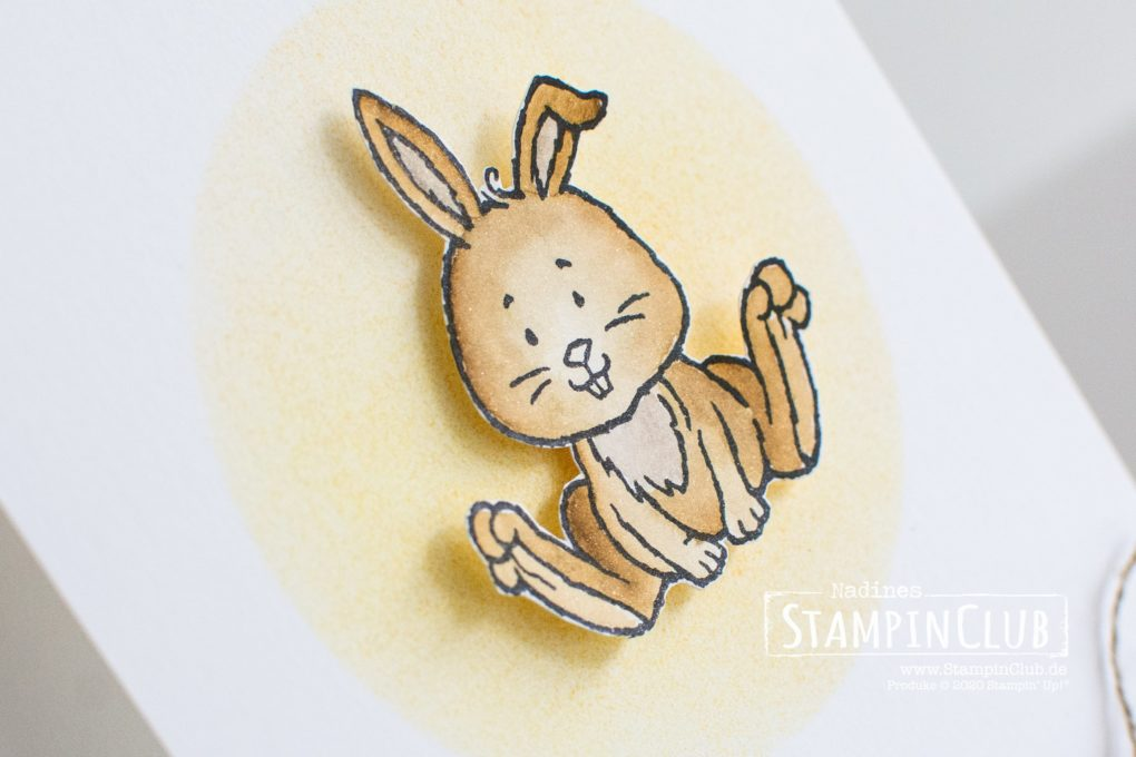 Stampin' Up!, StampinClub, Osterschatz, Welcome Easter, Aqua Painter