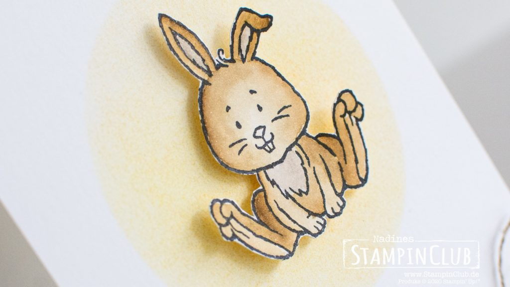 Stampin' Up!, StampinClub, Osterschatz, Welcome Easter, Aqua Painter