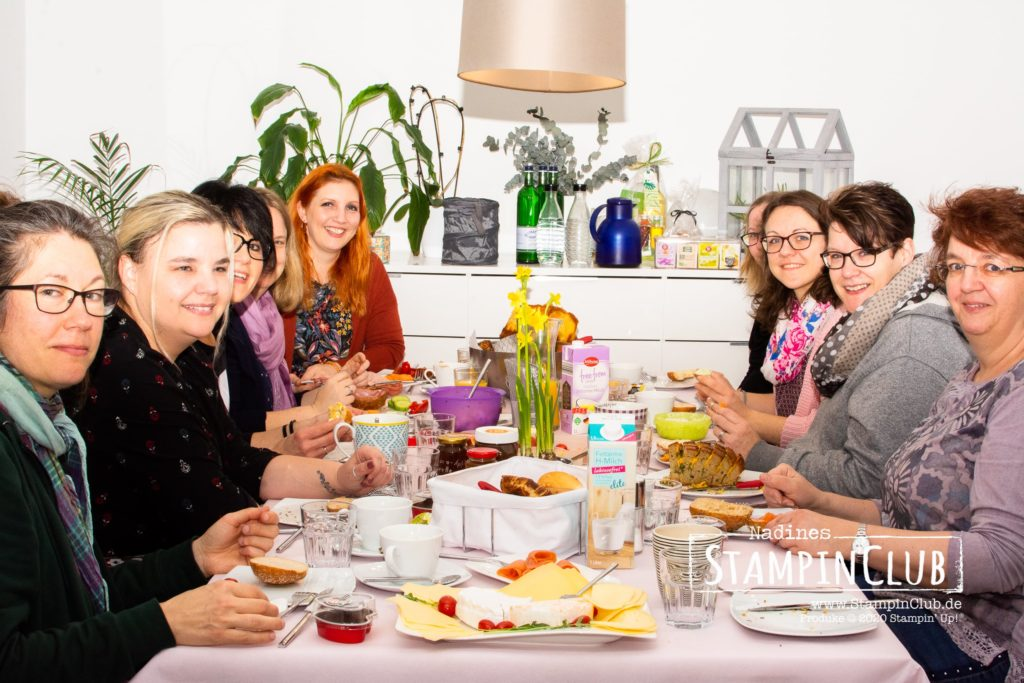 Stampin' Up!, StampinClub, Stempel-Brunch, Teamtreffen