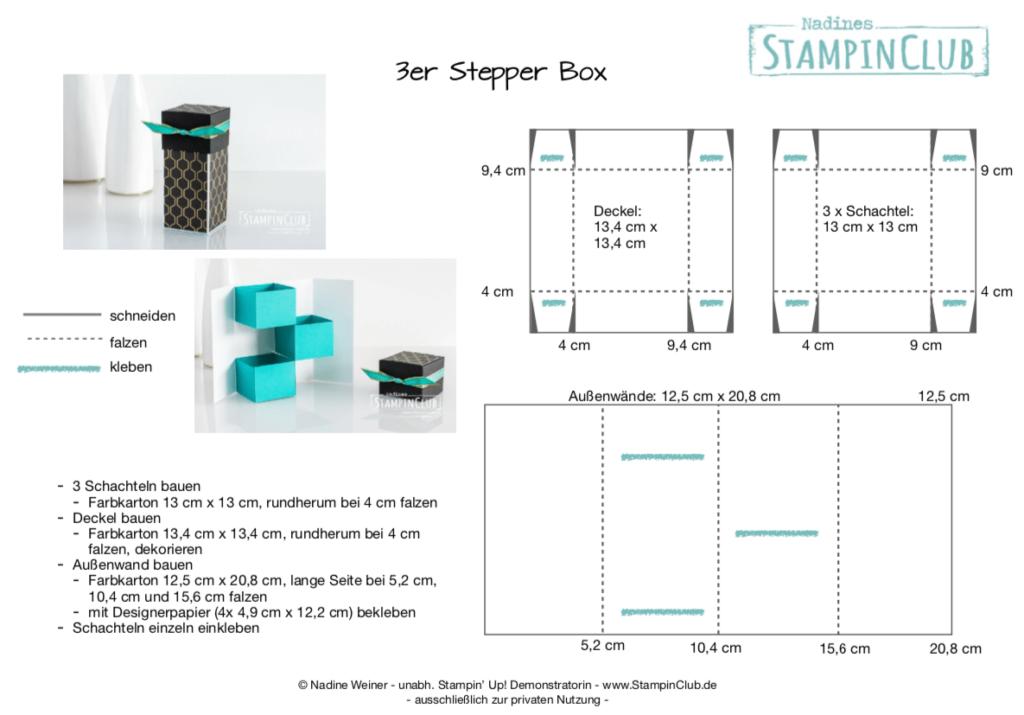 3er Stepper Box
