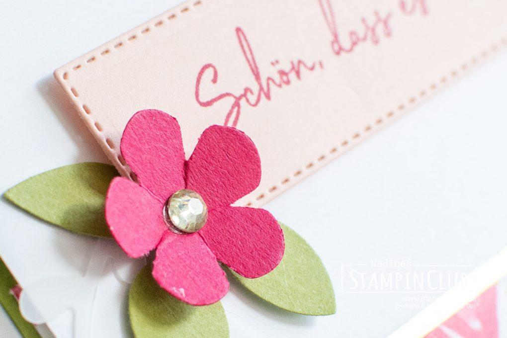 Stampin' Up!, StampinClub, Designerpapier Mit Stil & Klasse, Zum Geburtstag für dich, Stanze Kleine Blume, Stanzformen Dekorative Rahmen, Ornate Layers Dies