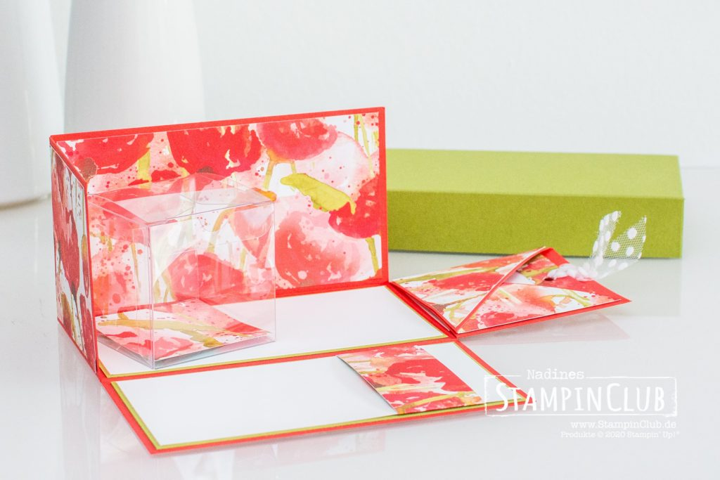 Stampin' Up!, StampinClub, Workshop to Go, Pop-Up Box, Mohnblütenzauber