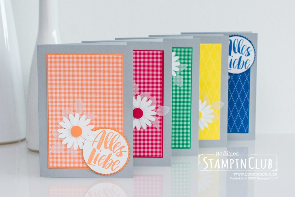 Stampin Up, StampinClub, In Color, Kraft der Natur