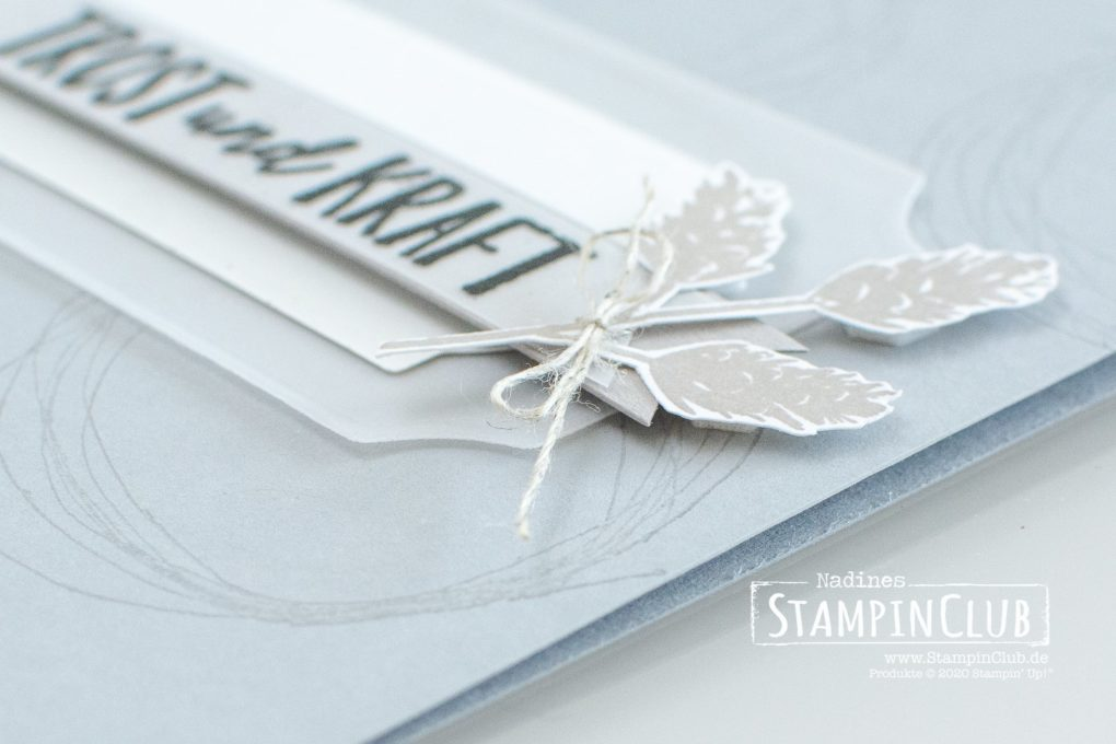 Stampin' Up!, StampinClub, Trost und Kraft, Comfort & Hope,Stanzformen Bezaubernde Etiketten