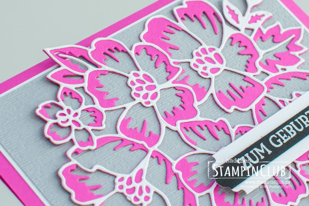 Stampin' Up!, StampinClub, Blumengruß, Stanzformen Blumenzierde, Stanze nach Wahl Allerliebste Anhänger