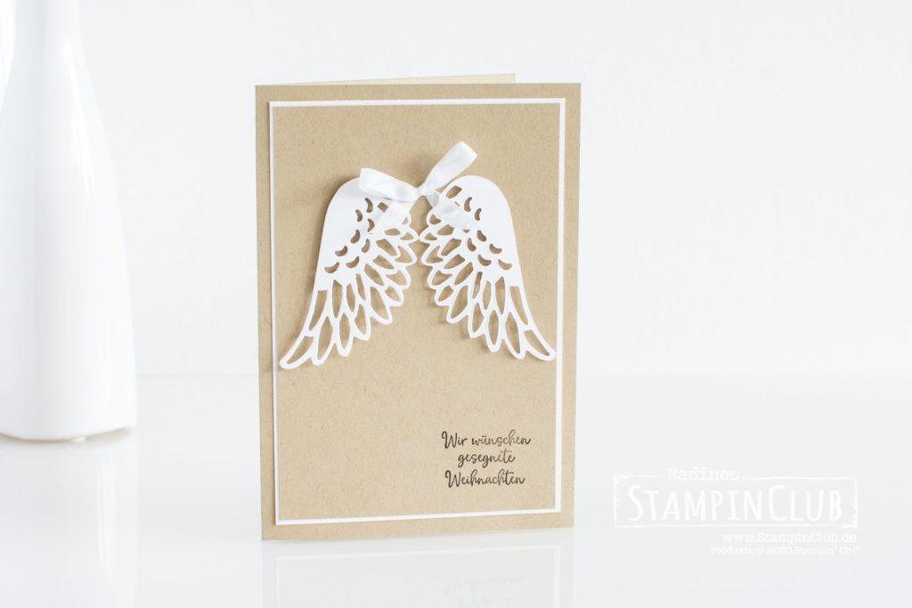 Stampin' Up!, StampinClub, Stanzformen Taubenzauber, Detailed Dove Dies, Stempelset Freude Liebe Frieden, Dove of Hope