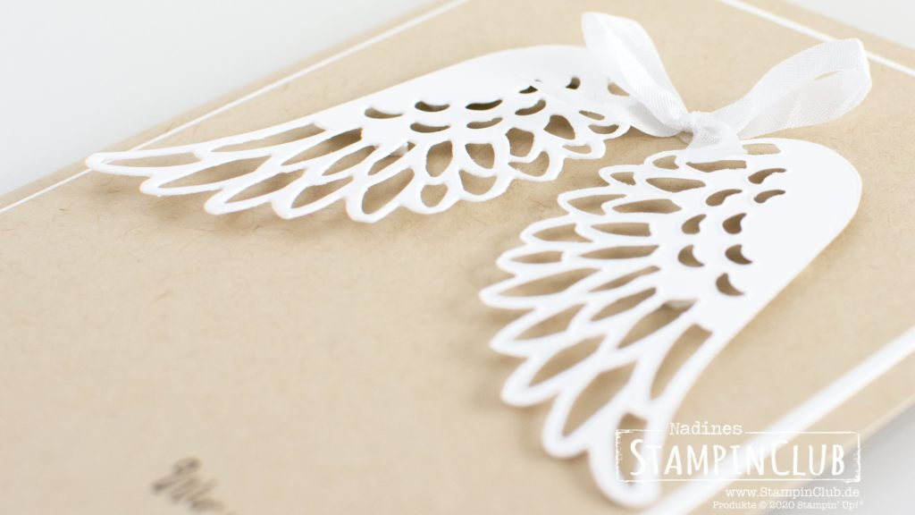 Stampin' Up!, StampinClub, Stanzformen Taubenzauber, Detailed Dove Dies, Stempelset Freude Liebe Frieden, Dove of Hope