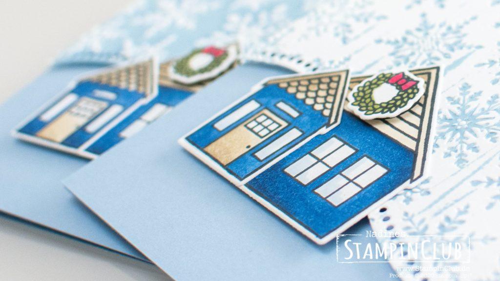 Stampin' Up!, StampinClub, Coming Home, 3D Prägeform Schneekristalle, Stanzformen mit Schwung, Curvy Dies, Weihnachtsmix
