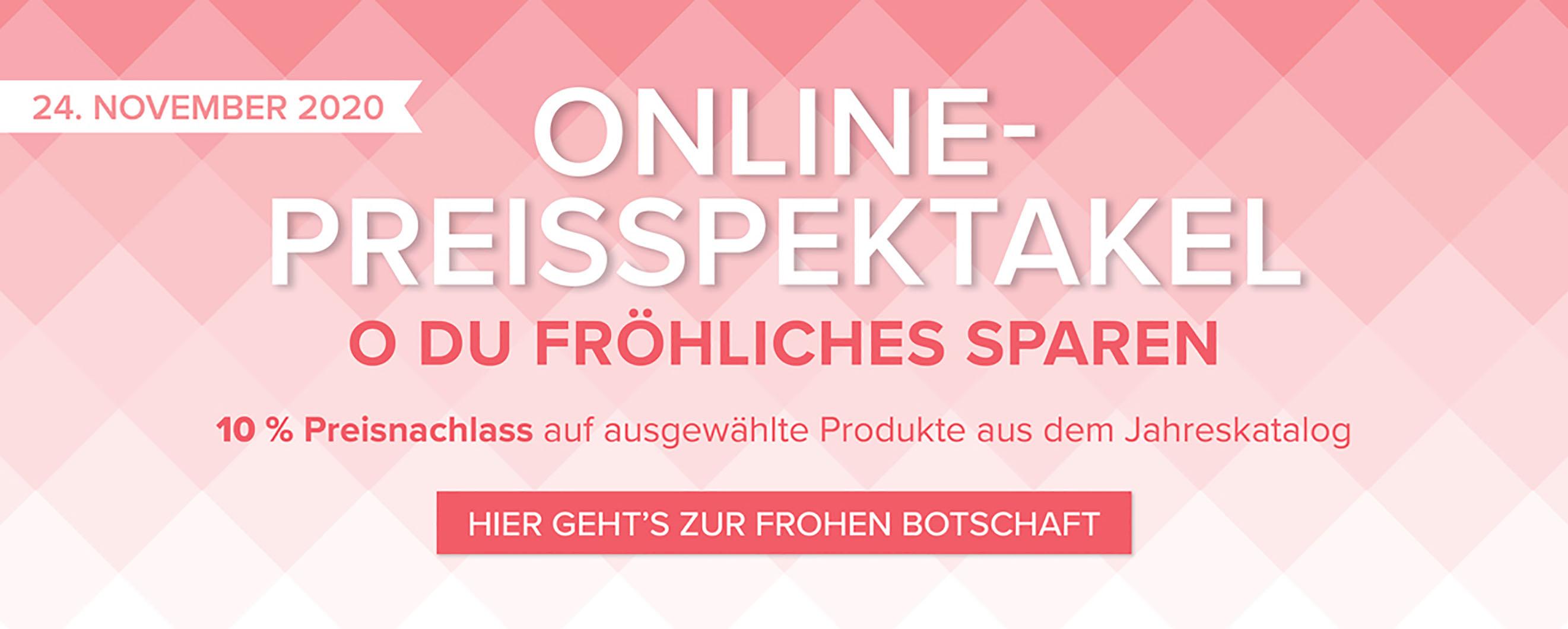 2020 Online-Preisspektakel