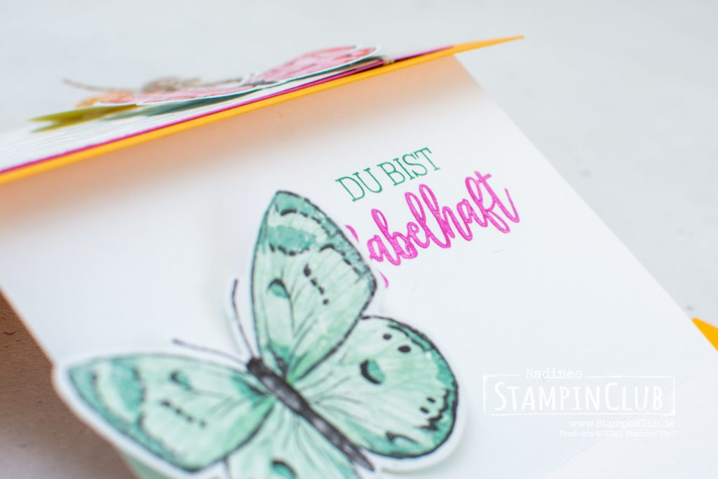 Designerpapier Schmetterlingsschmuck, Stampin' Up!, StampinClub, Stanzformen Fabelhafte Falter, Brilliant Wings Dies, Designerpapier Schmetterlingsschmuck, Butterfly Bijou DSP, Fabelhaft, You are Amazing
