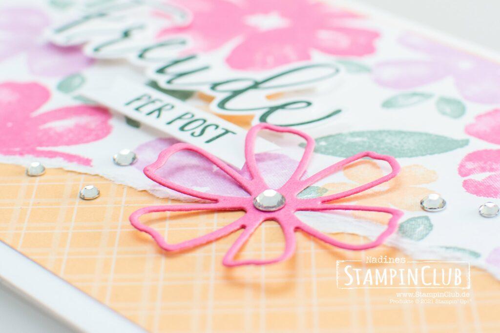Stampin' Up!, StampinClub, Blumen voller Freude, Pretty Perennials, Stazformen Herrlich blumig, Perennial Petals Dies, InColor 2021-2023
