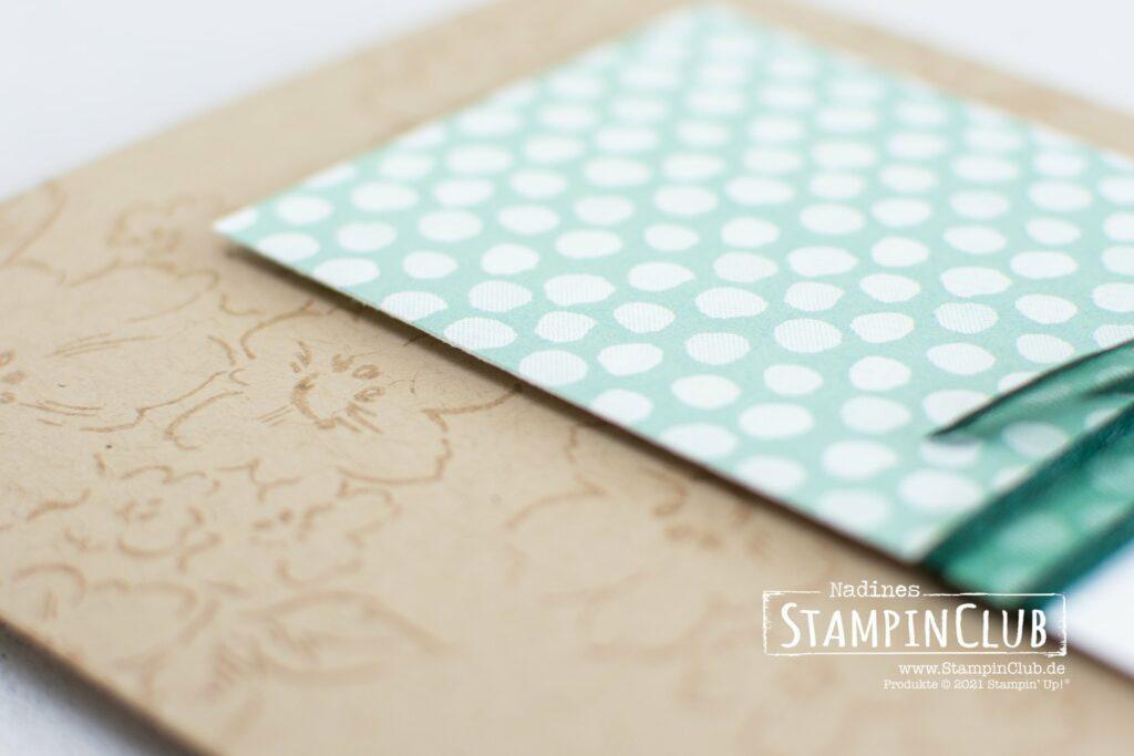 Stampin' Up!, Stampin' Up!, StampinClub, Handgemalte Blüten, Hand-Penned Petals, Stanzformen Blüten, Penned Flowers Dies, Designerpapier Mustermix, Pattern Party DSP