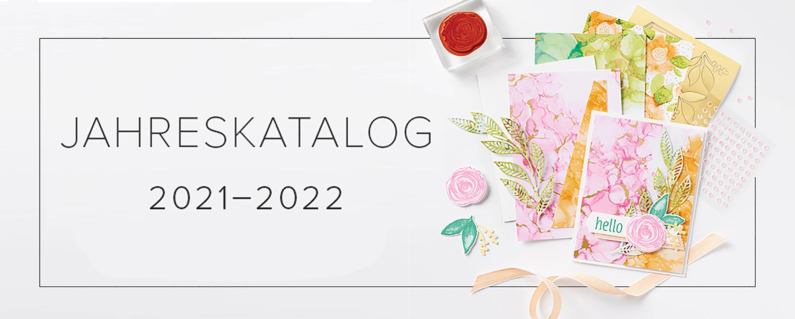 Stampin' Up!® Jahreskatalog 2021-2022