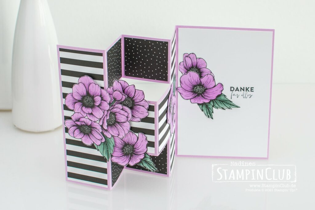 Stampin' Up!, StampinClub, Designerpapier Mustermix, Stampin' Blends, Designerpapier Wahre Liebe, True Love DSP