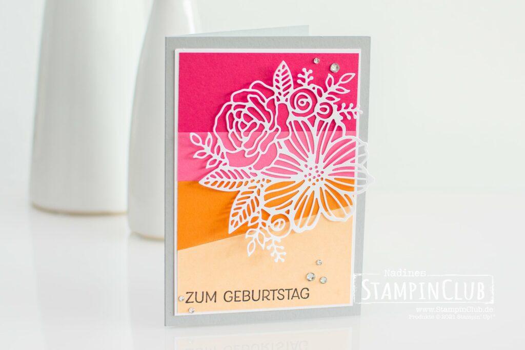Stampin' Up!, StampinClub, Kunstvoll Koloriert, Artistically Inked, Stanzformen Künstlerisch, Artistic Dies