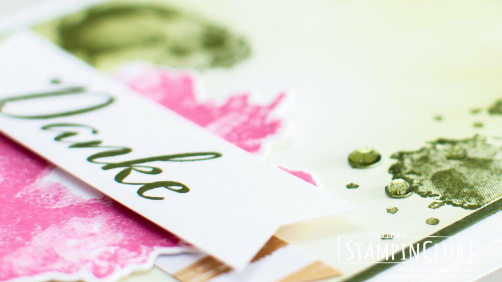 Stampin' Up!, StampinClub, Kunstvoll Koloriert, Artistically Inked, Besonderes Designerpapier Tintenkunst, Expressions in Ink DSP, Stanzformen Künstlerisch, Artistic Dies