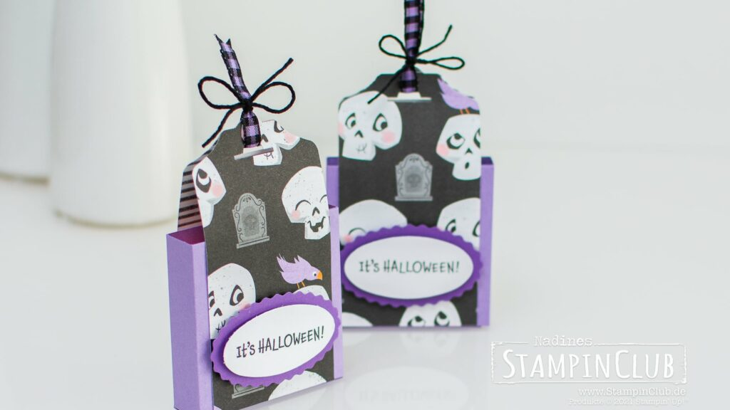 Stampin' Up!®, StampinClub, Designerpapier Heiteres Halloween, Cute Halloween DSP, Clever Cats. Reeses Peanut Butter Cups